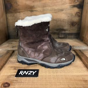 The North Face Waterproof Zip Up Warm Boots